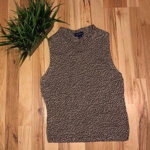 Ann Taylor sleeveless knitted sweater